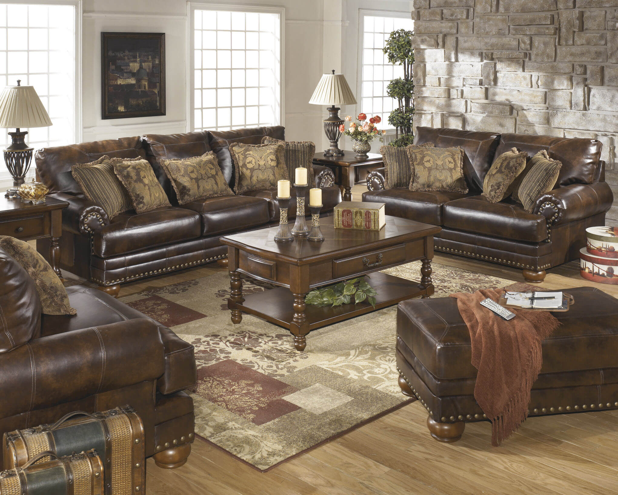 Swell 99200 Antique Bonded Leather Sofa And Loveseat Discontinued Bralicious Painted Fabric Chair Ideas Braliciousco