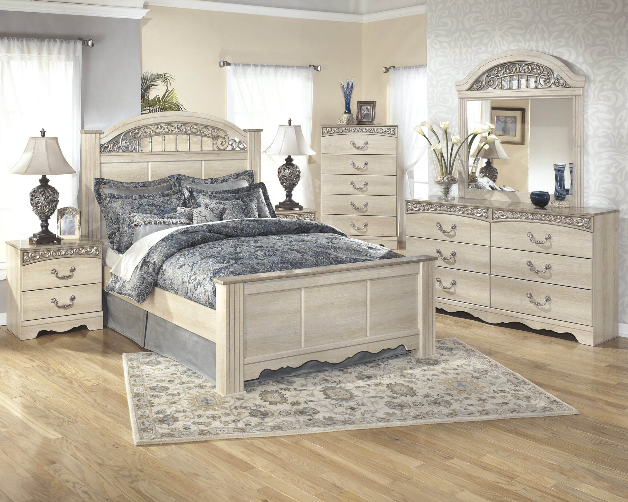 Ashley Catalina 5 Piece Bedroom Set