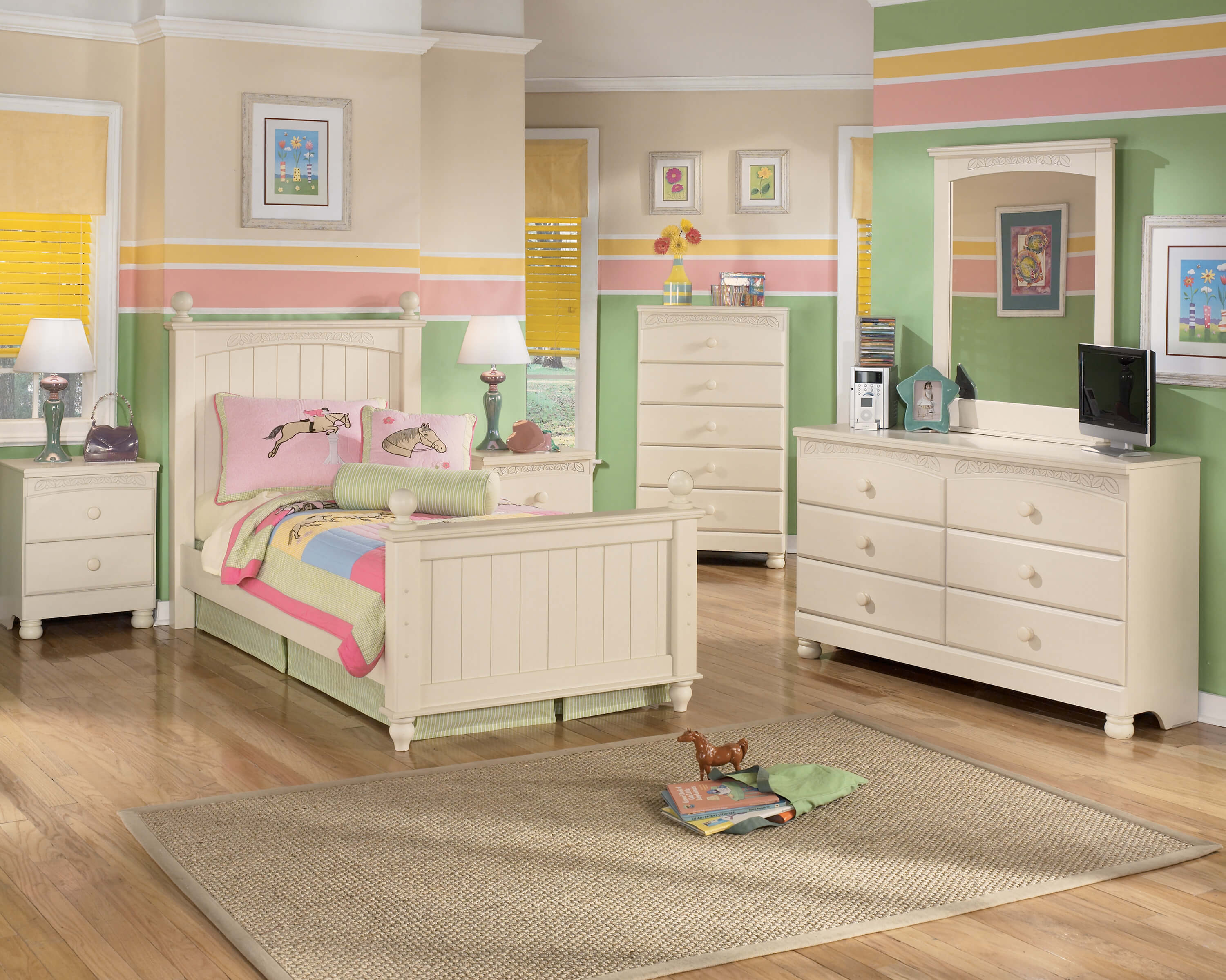 B213 Cottage Retreat Ashley Bedroom Set-DISCONTINUED
