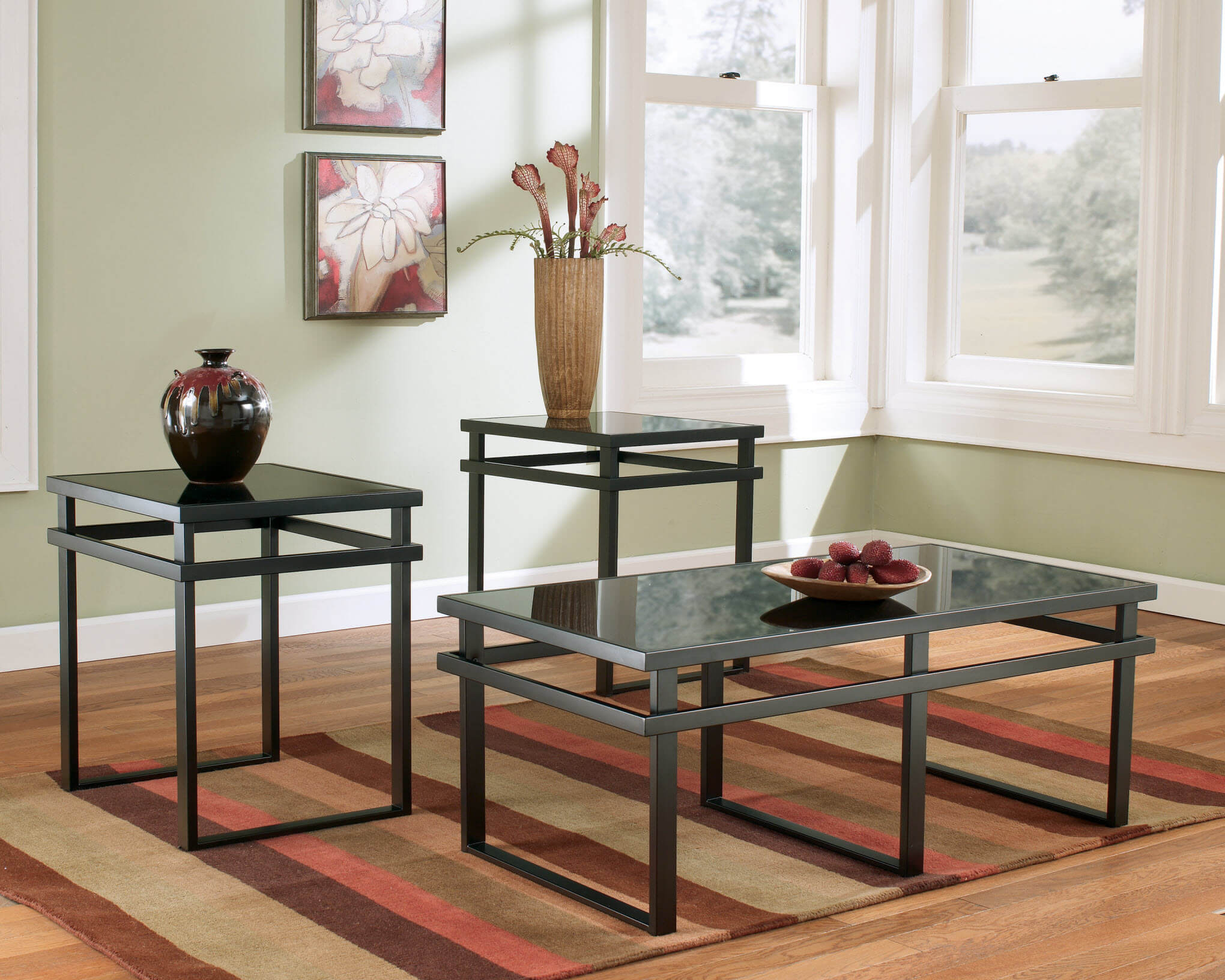 Ashley Laney Coffee And End Table Set Occasional Tables