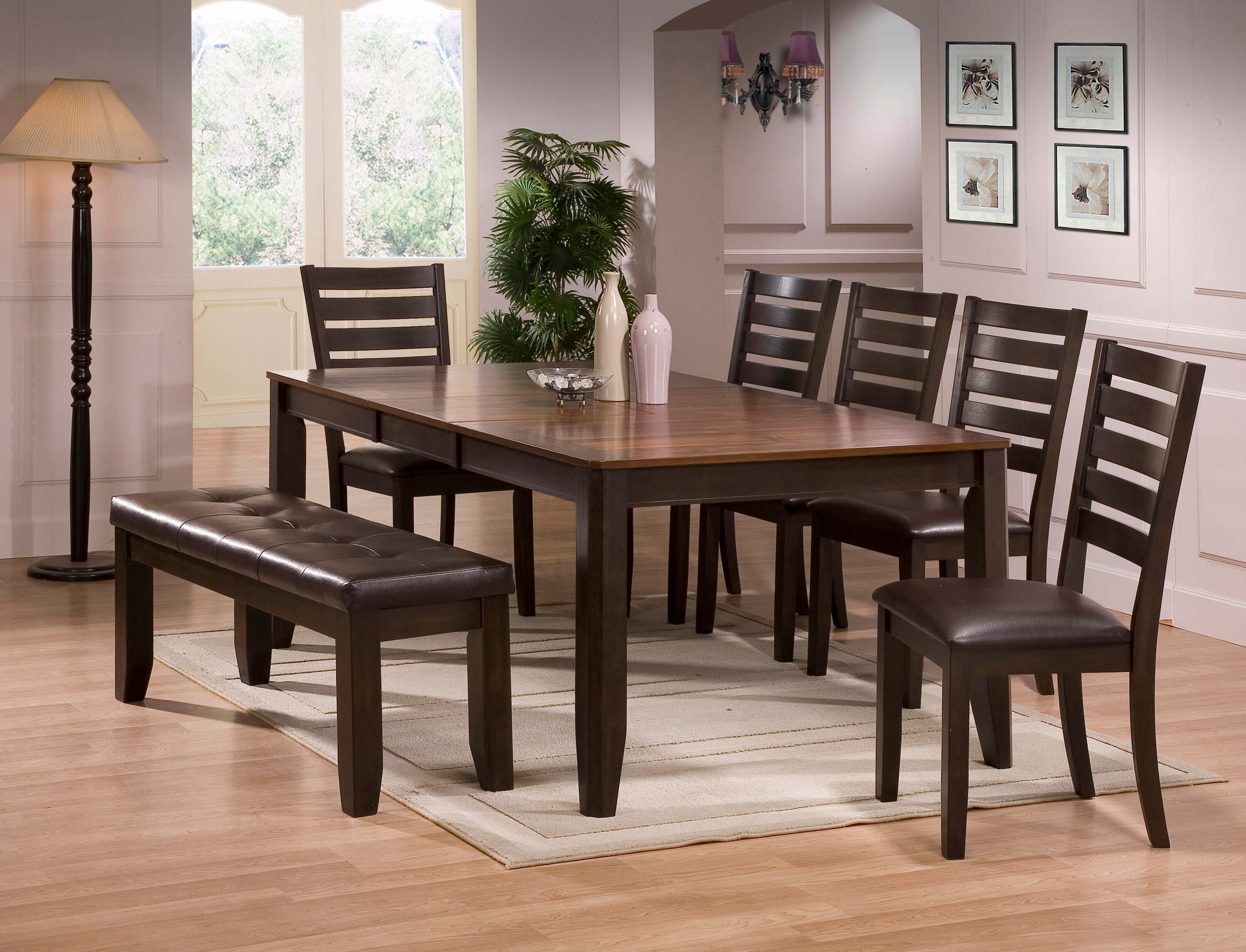Crown Mark Elliot Dining Set Dining Room Furniture Sets