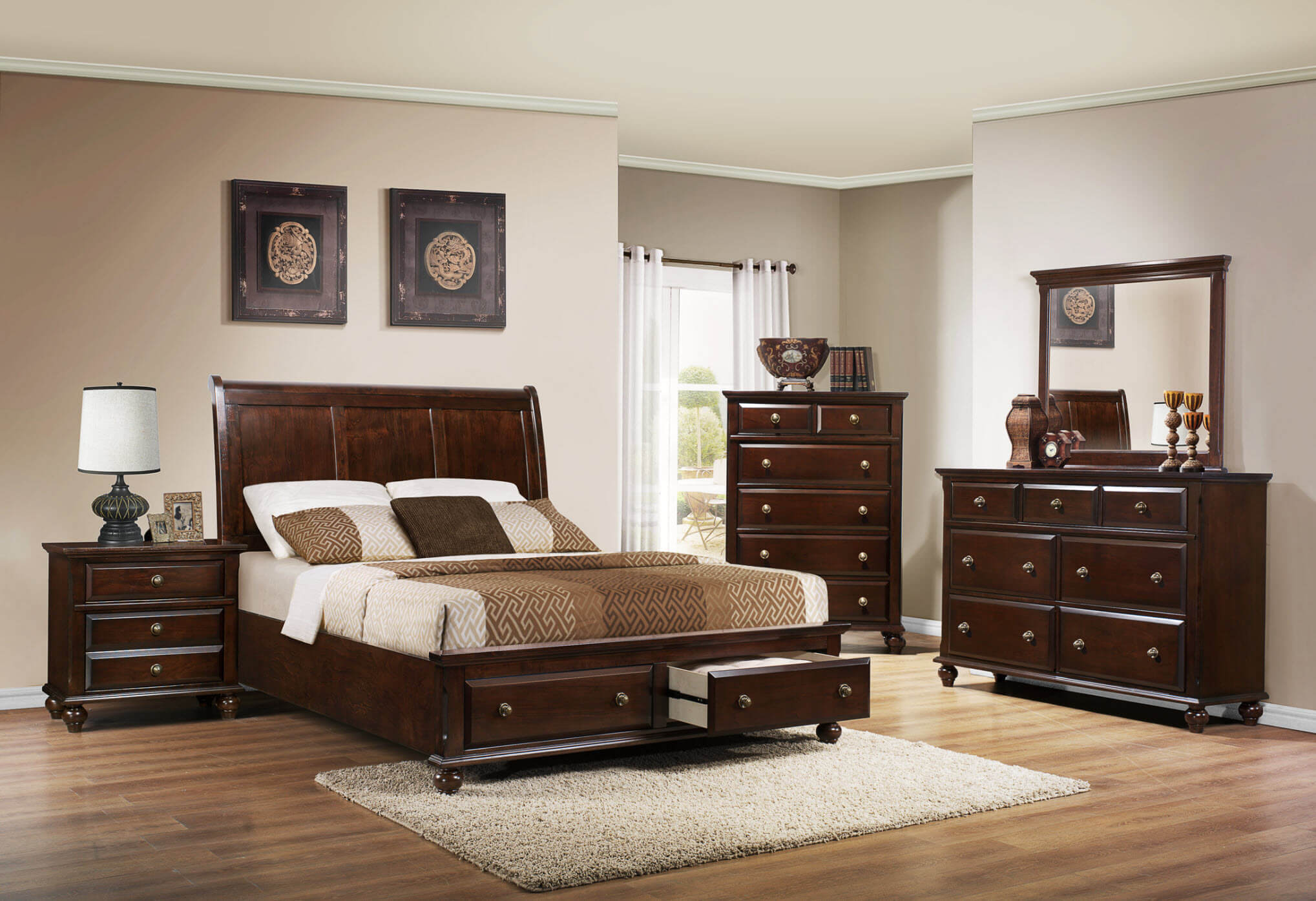 B6075 Portsmouth Bedroom Set by Crown Mark