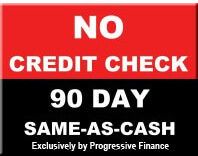 No Credit Check Financing | 90 Days Same as Cash