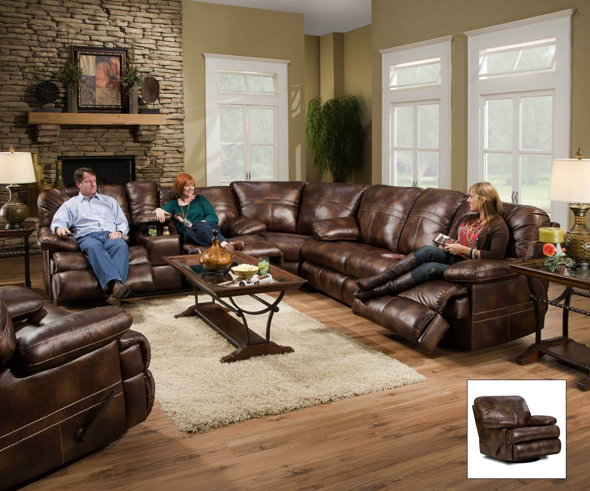 Fine 50981 Miracle Saddle Bonded Leather Sectional By Simmons Discontinued Alphanode Cool Chair Designs And Ideas Alphanodeonline