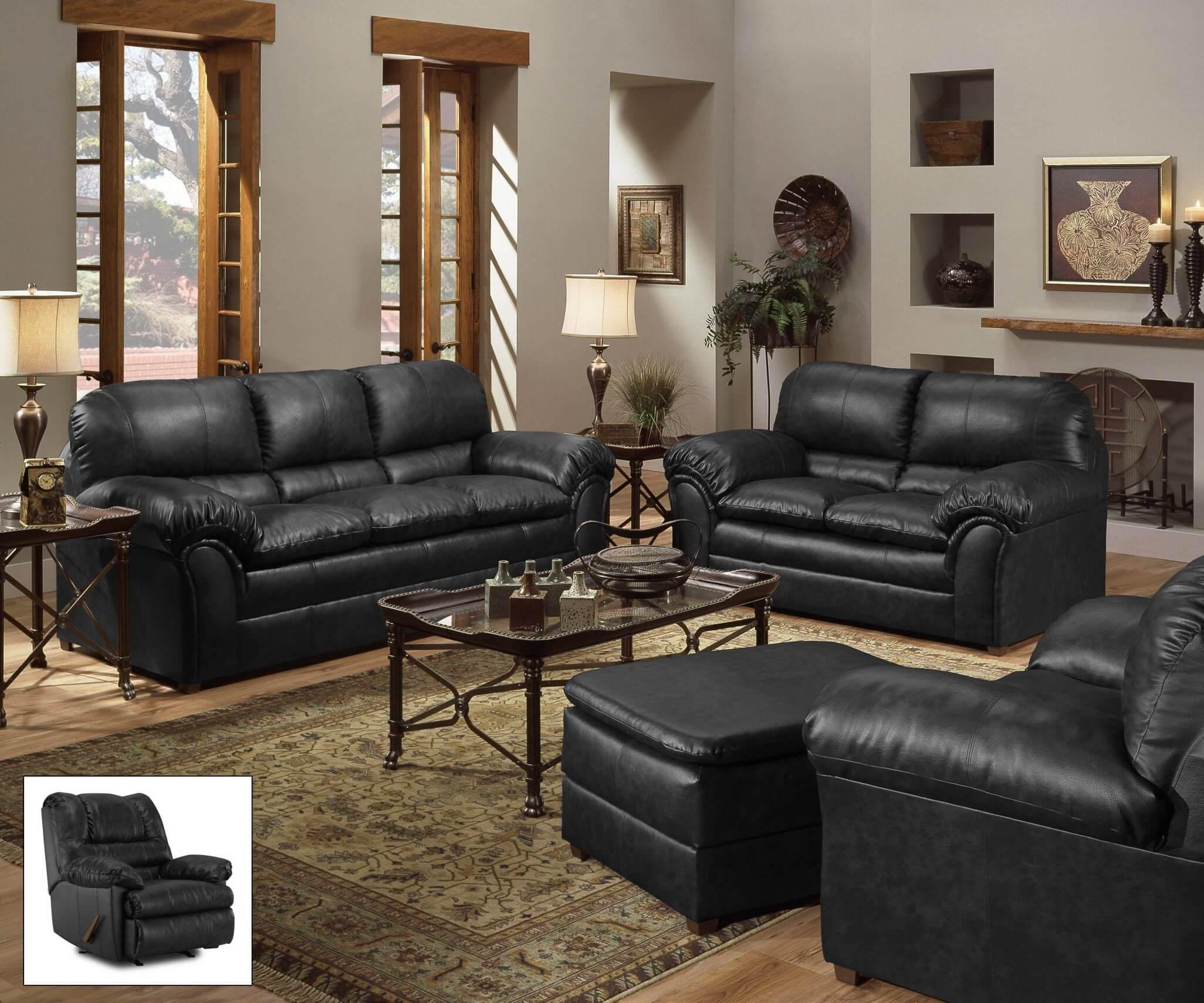 Outstanding 6152 Simmons Geneva Onyx Sofa And Loveseat Discontinued Frankydiablos Diy Chair Ideas Frankydiabloscom
