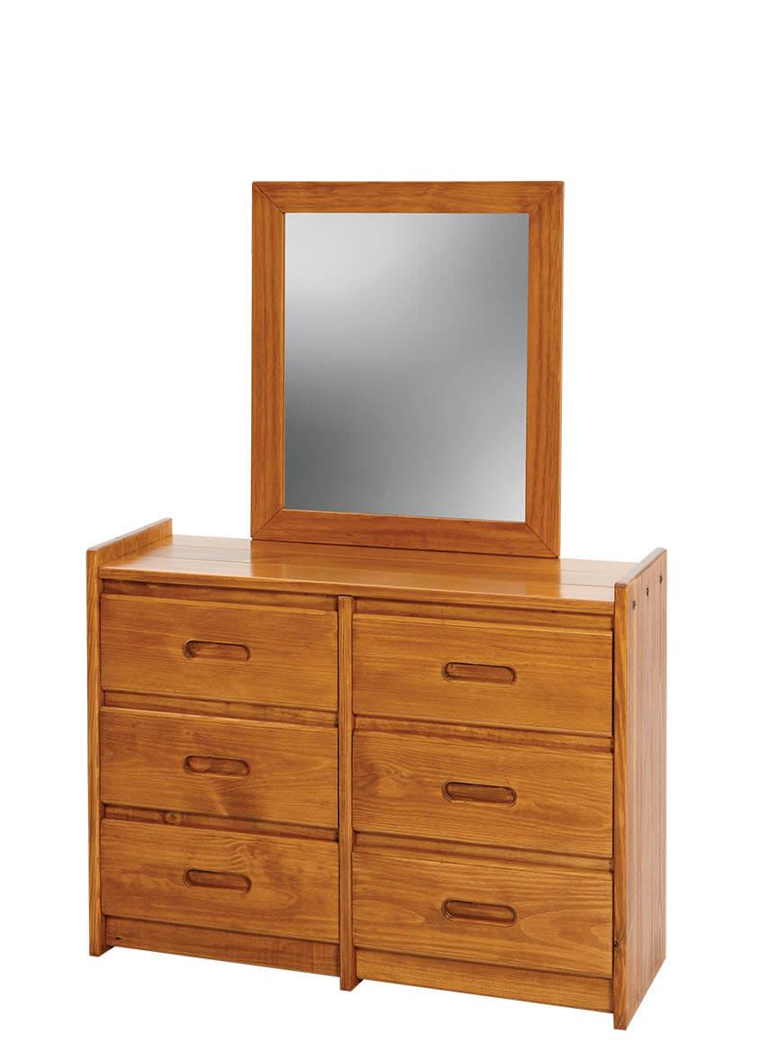 DR06 Woodcrest Solid Pine Dresser-DISCONTINUED