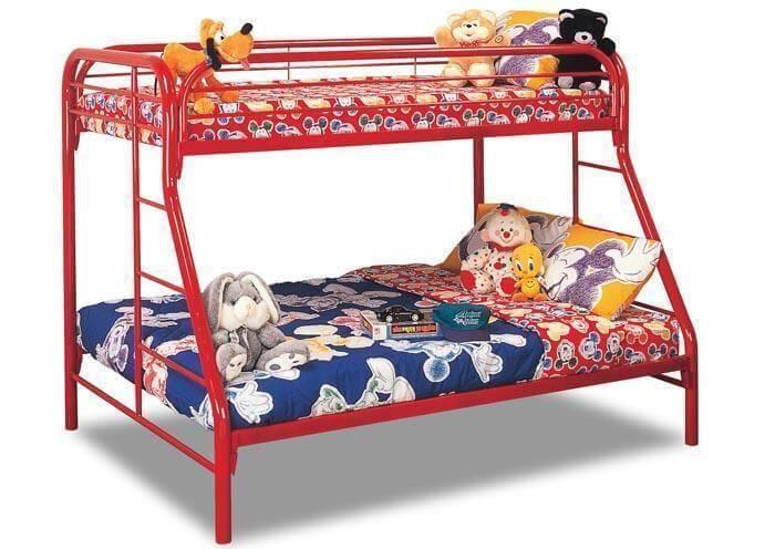 Twin Over Full Metal Bunk Bed Kids Bunk Beds
