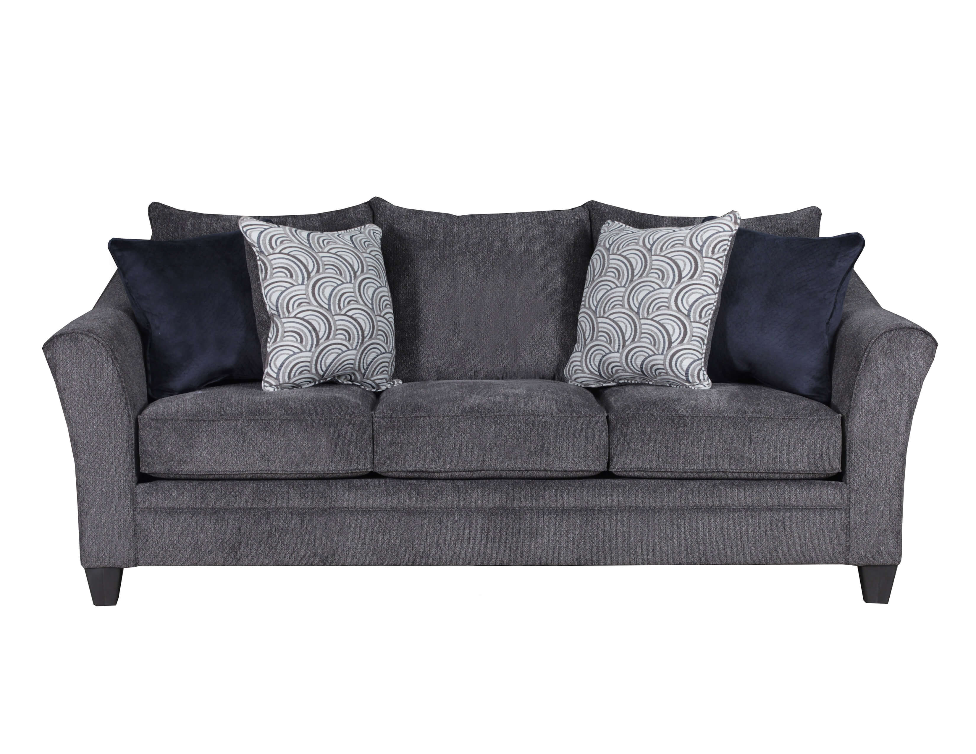 Albany Pewter Sofa And Loveseat By Simmons
