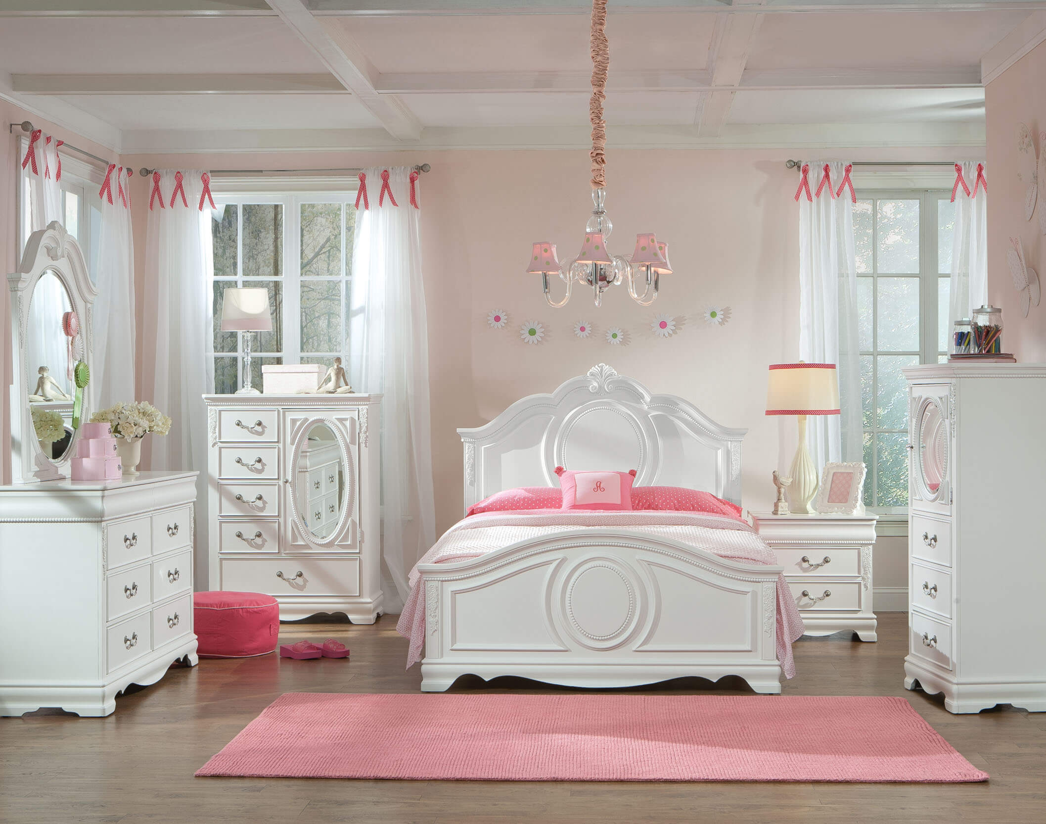 Jessica White Bedroom Set | Kids\' Bedroom Sets