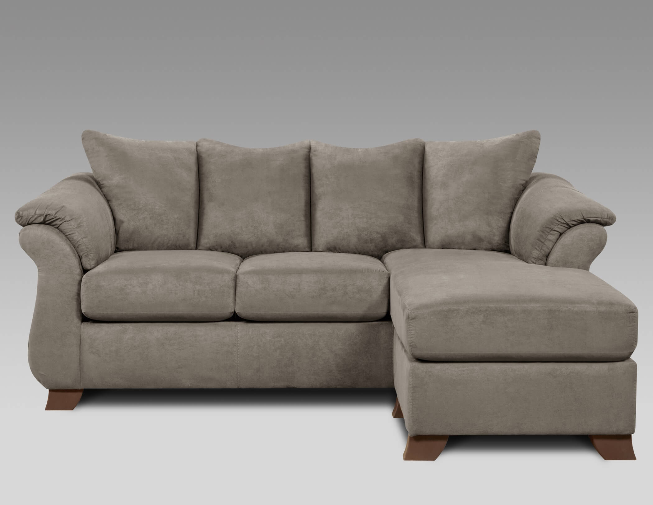 Sensations Grey Sofa Chaise Sectional Sofa Sets