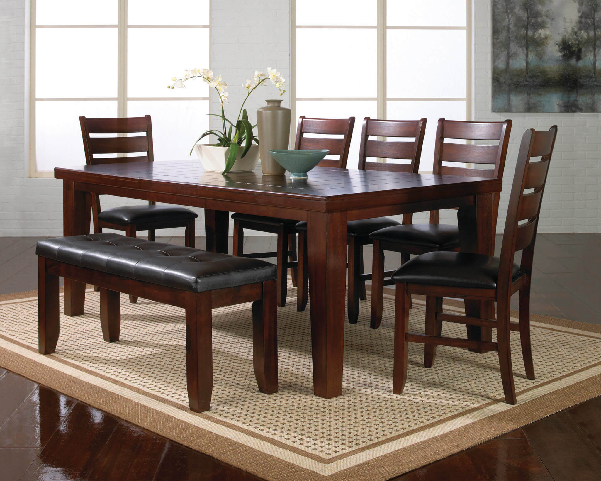 Exceptionnel 2152 Crown Mark Bardstown Dining Room Set