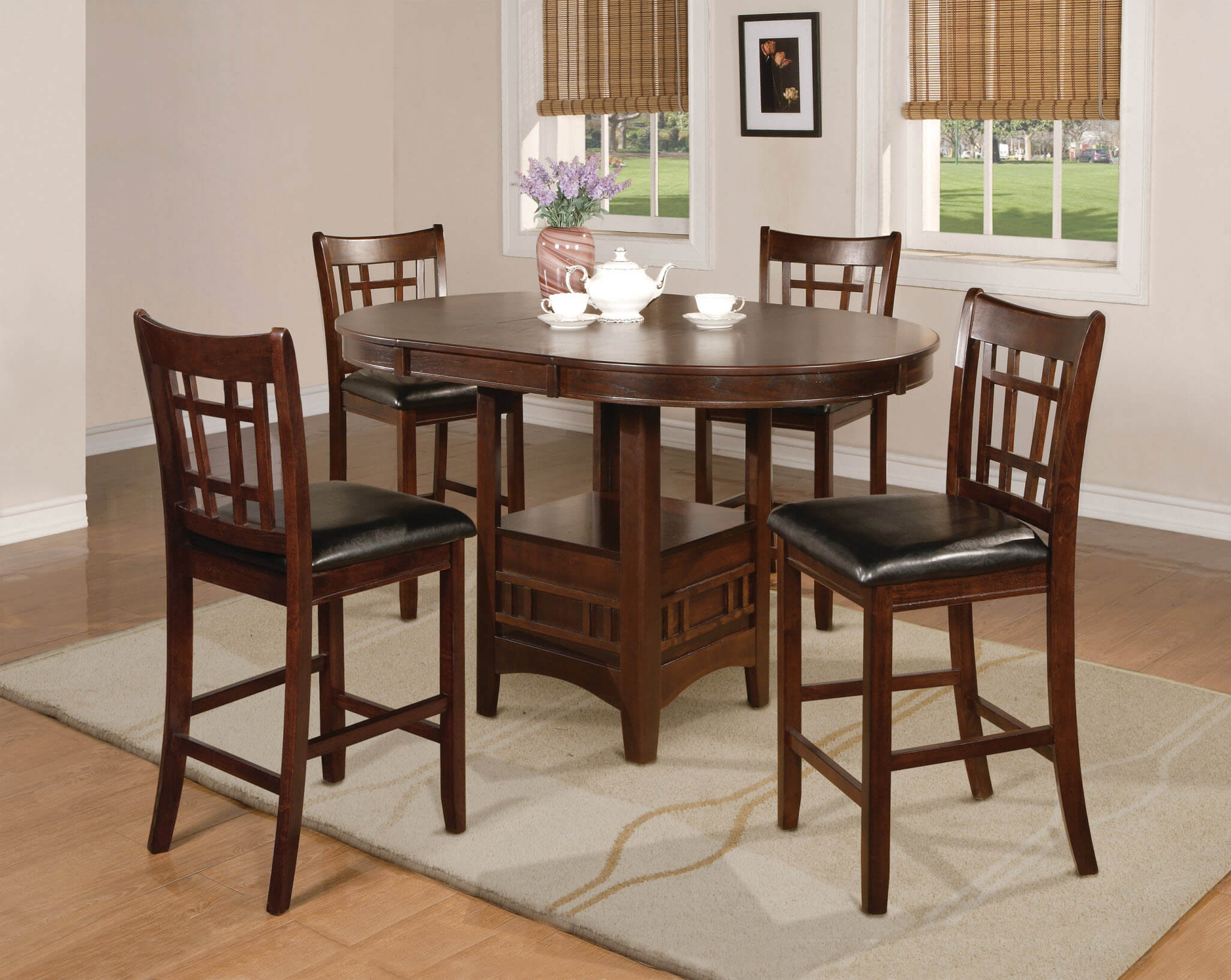 counter height dining table set. 2795 Crown Mark Hartwell Counter Height Dining Room Set Table