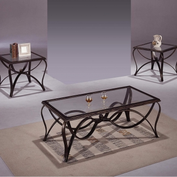 Crown Mark Monarch Coffee and End Table Set