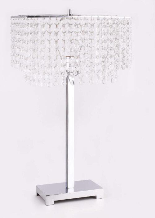Crown Mark Chrome Lamp