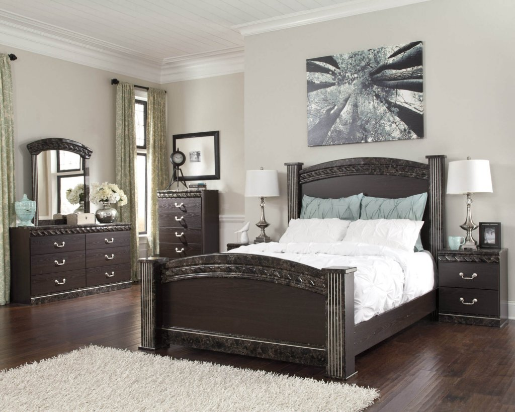 Ashley vachel bedroom set bedroom furniture sets - Ashley furniture bedroom packages ...