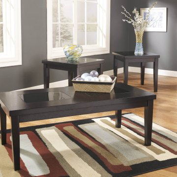 Denja Birch Coffee and End Table Set by Ashley