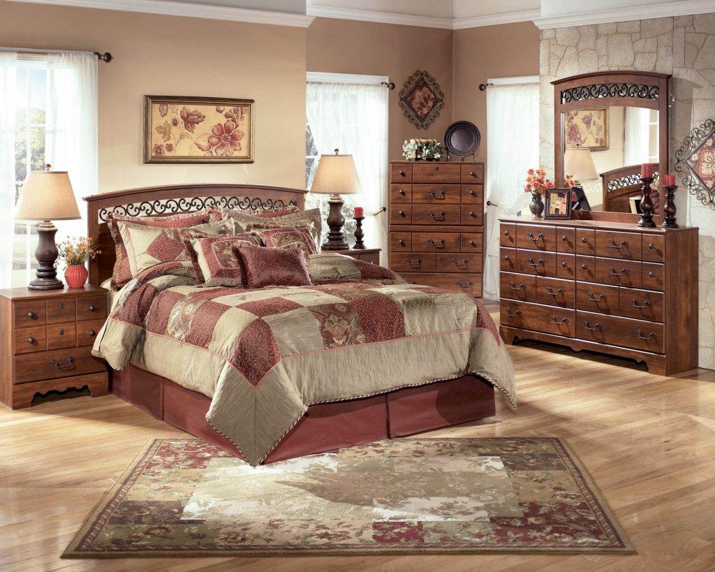 Timberline ashley bedroom set bedroom furniture sets for Ashton castle bedroom set by ashley