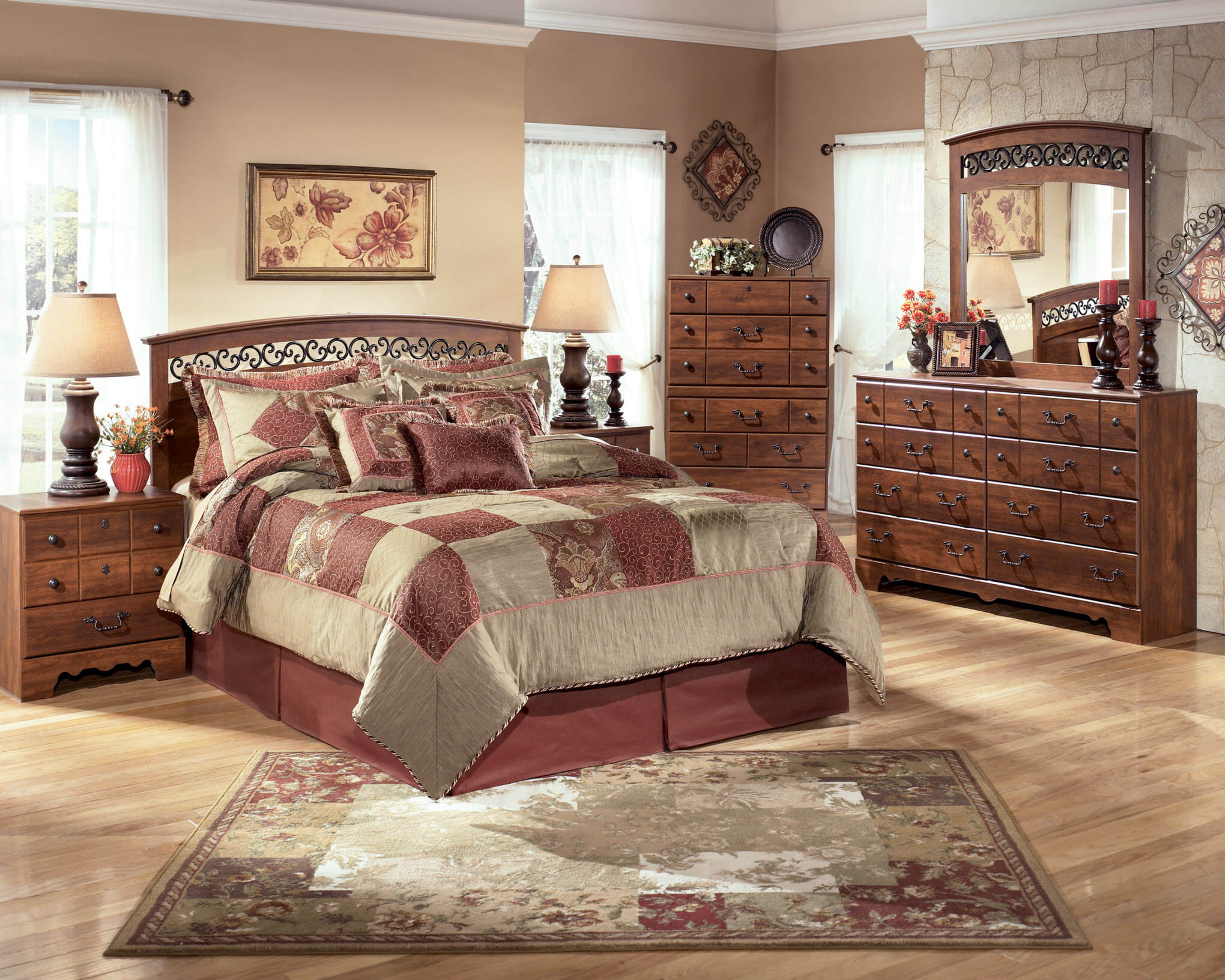 Timberline ashley bedroom set bedroom furniture sets - Ashley furniture bedroom packages ...