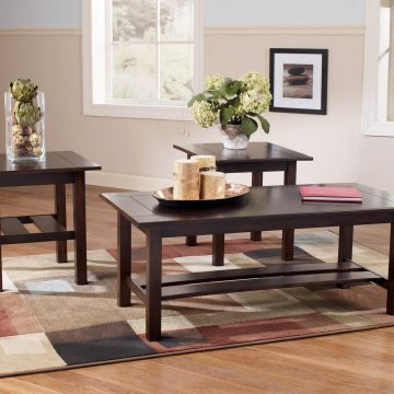 Ashley Lewis Coffee and End Table Set