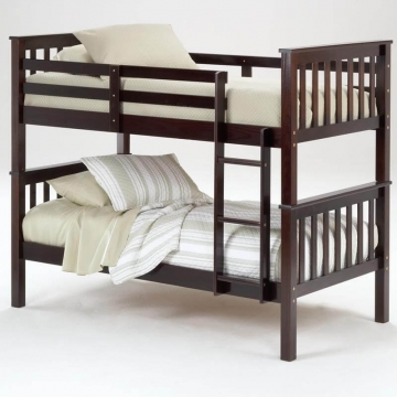 Bernards Espresso Bunk Bed