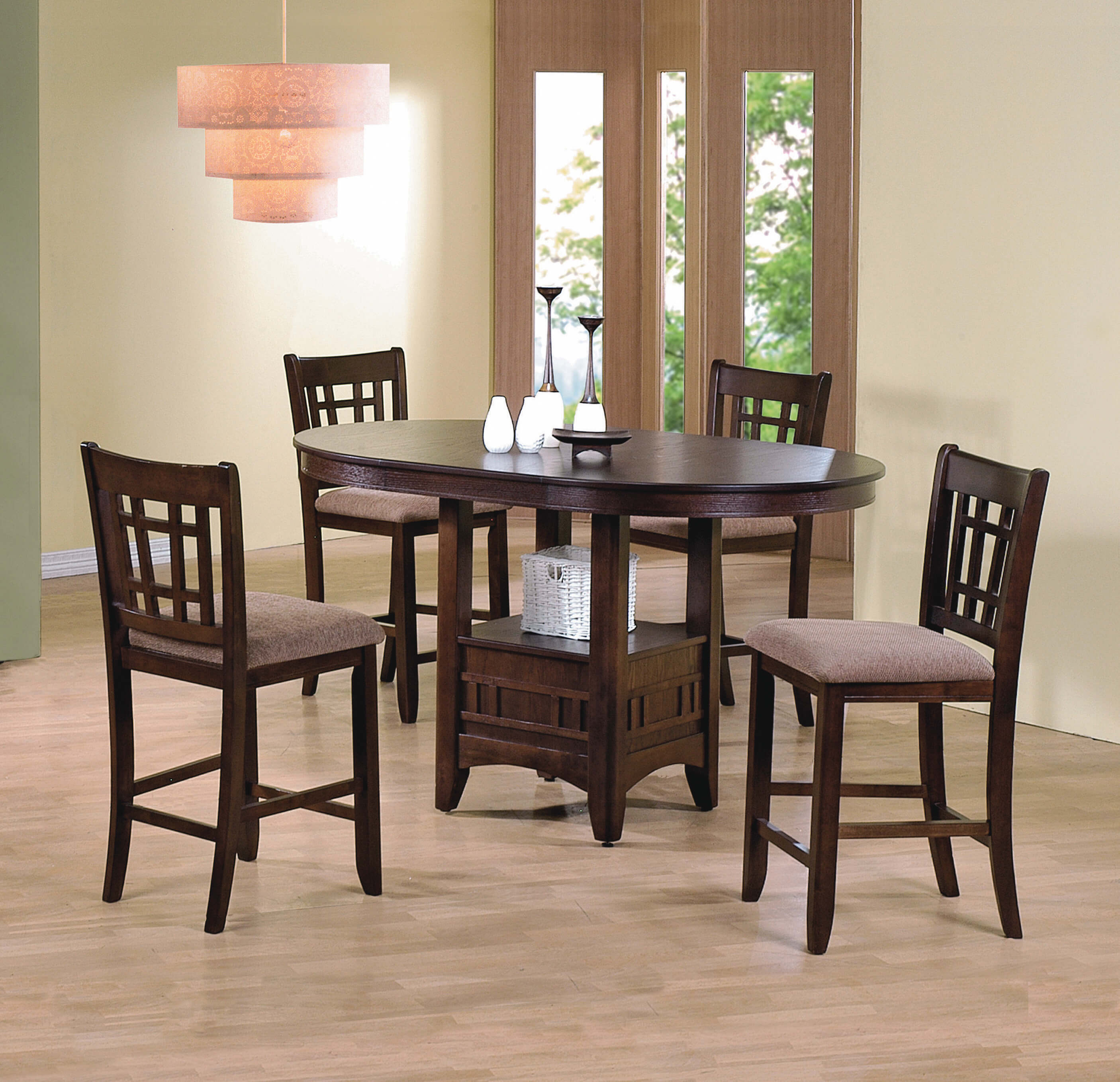 Counter Dining Room Sets: Empire Counter Height Dining Room Set
