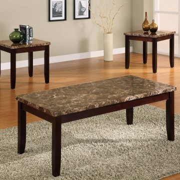 Crown Mark Ferrara Coffee and End Table Set
