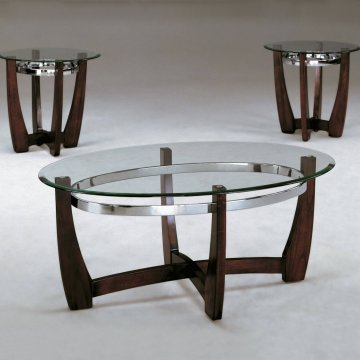 Crown Mark Mitchell Coffee and End Table Set