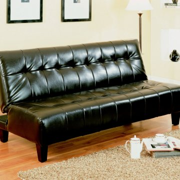 Crown Mark Marco Espresso Adjustable Sofa Bed
