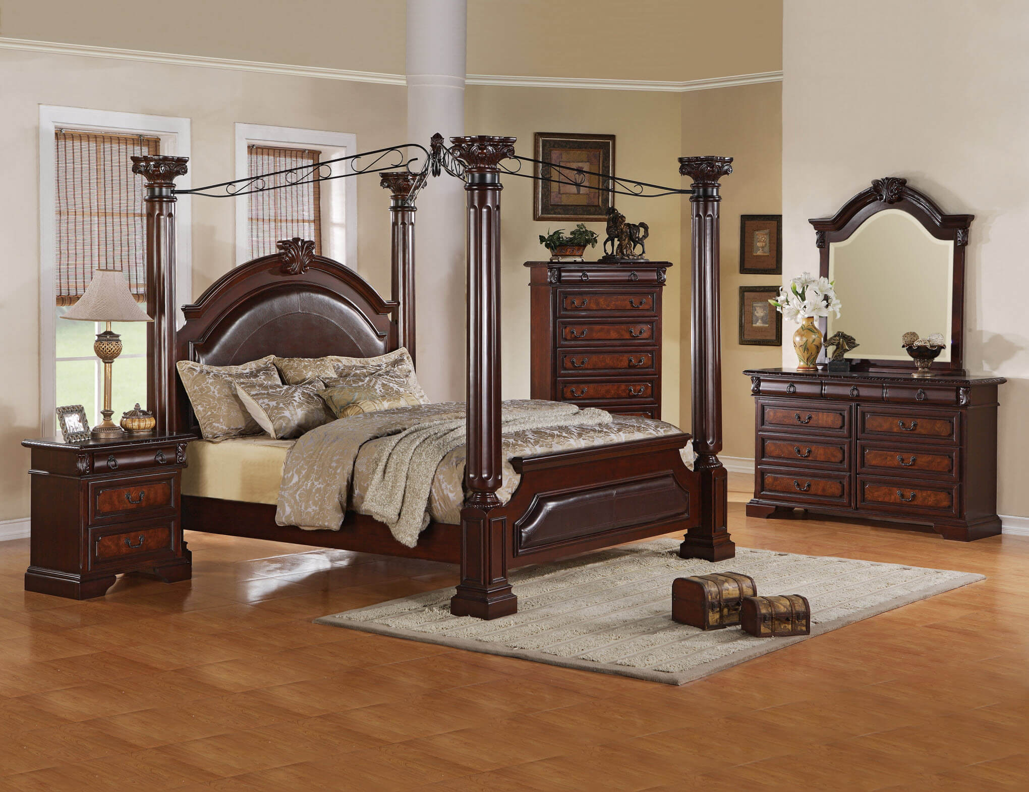 Ashley Neo Renaissance Bedroom Set Bedroom Furniture Sets