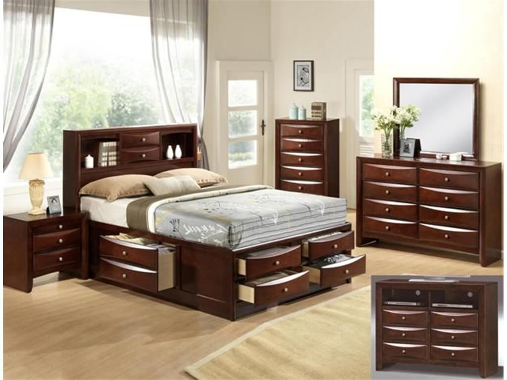 Emily Crown Mark Captain Bedroom Set Bedroom Furniture Sets