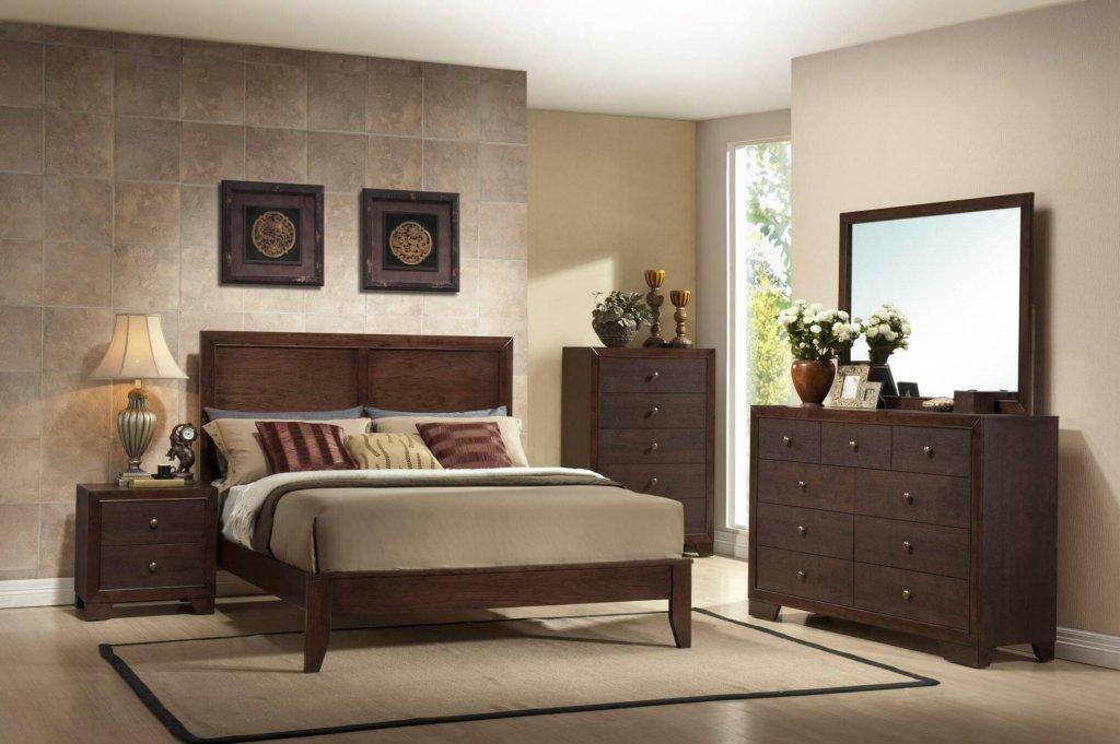 Crown Mark Silvia Bedroom Set Bedroom Furniture Sets