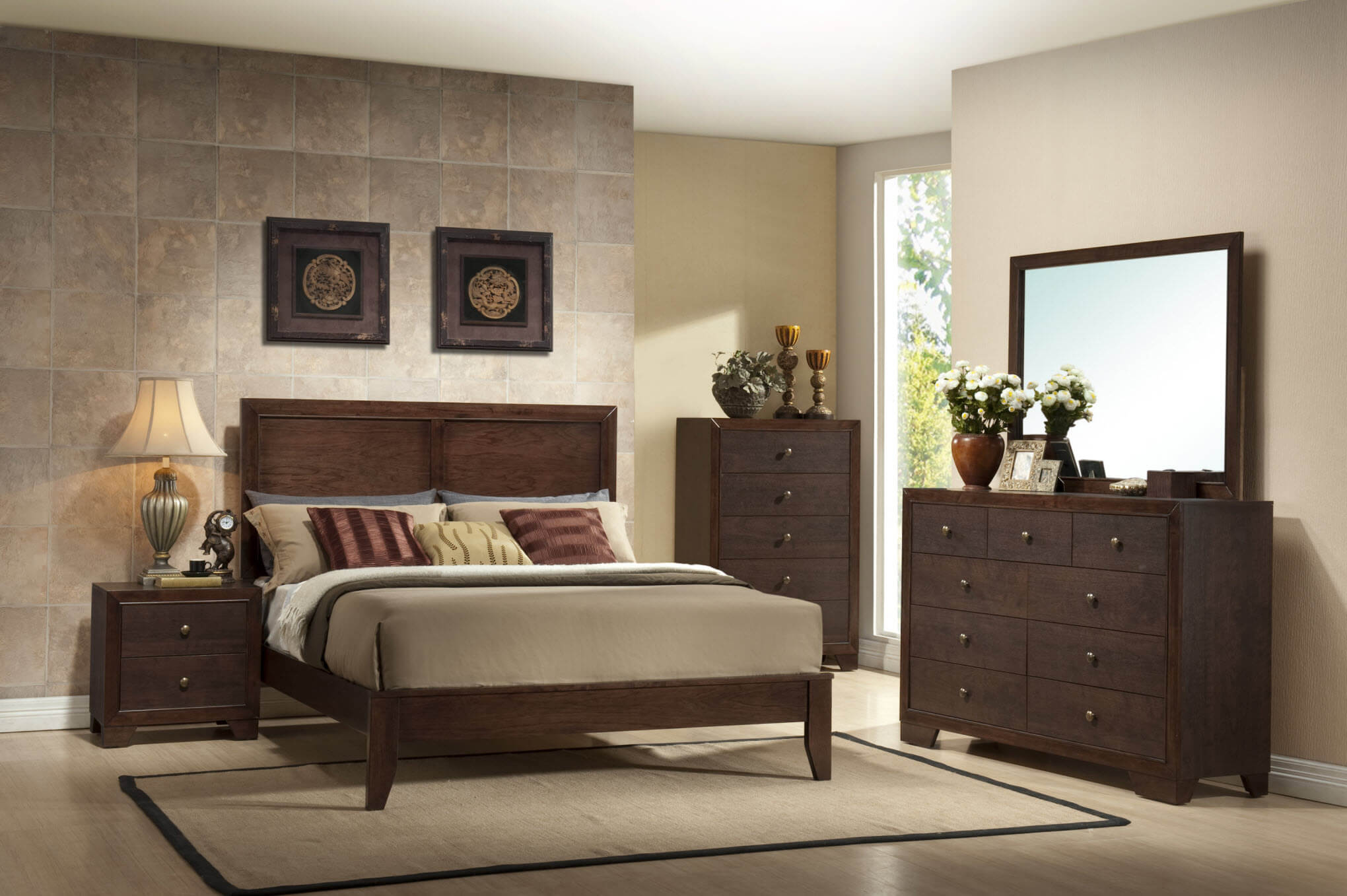 Crown Mark Silvia Bedroom Set | Bedroom Furniture Sets