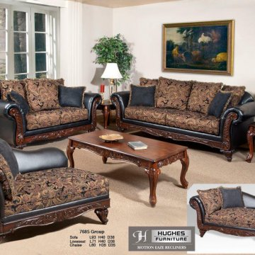 Serta Silas Ebony Sienna Sofa and Loveseat