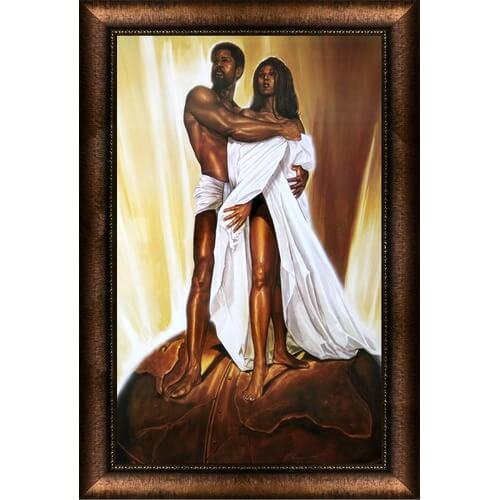 Power of Love Framed Wall Art
