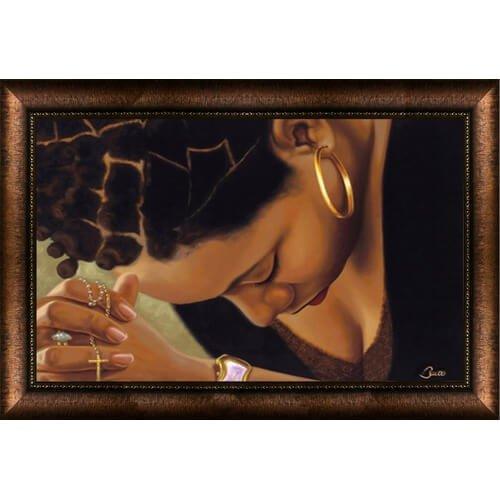 Time Well Spent Woman Framed Wall Art