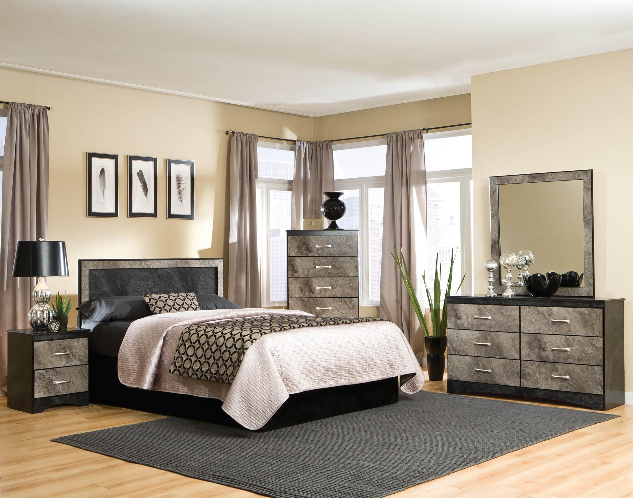 Image result for KITH FURNITURE BEDROOM SET MEMPHIS GREY