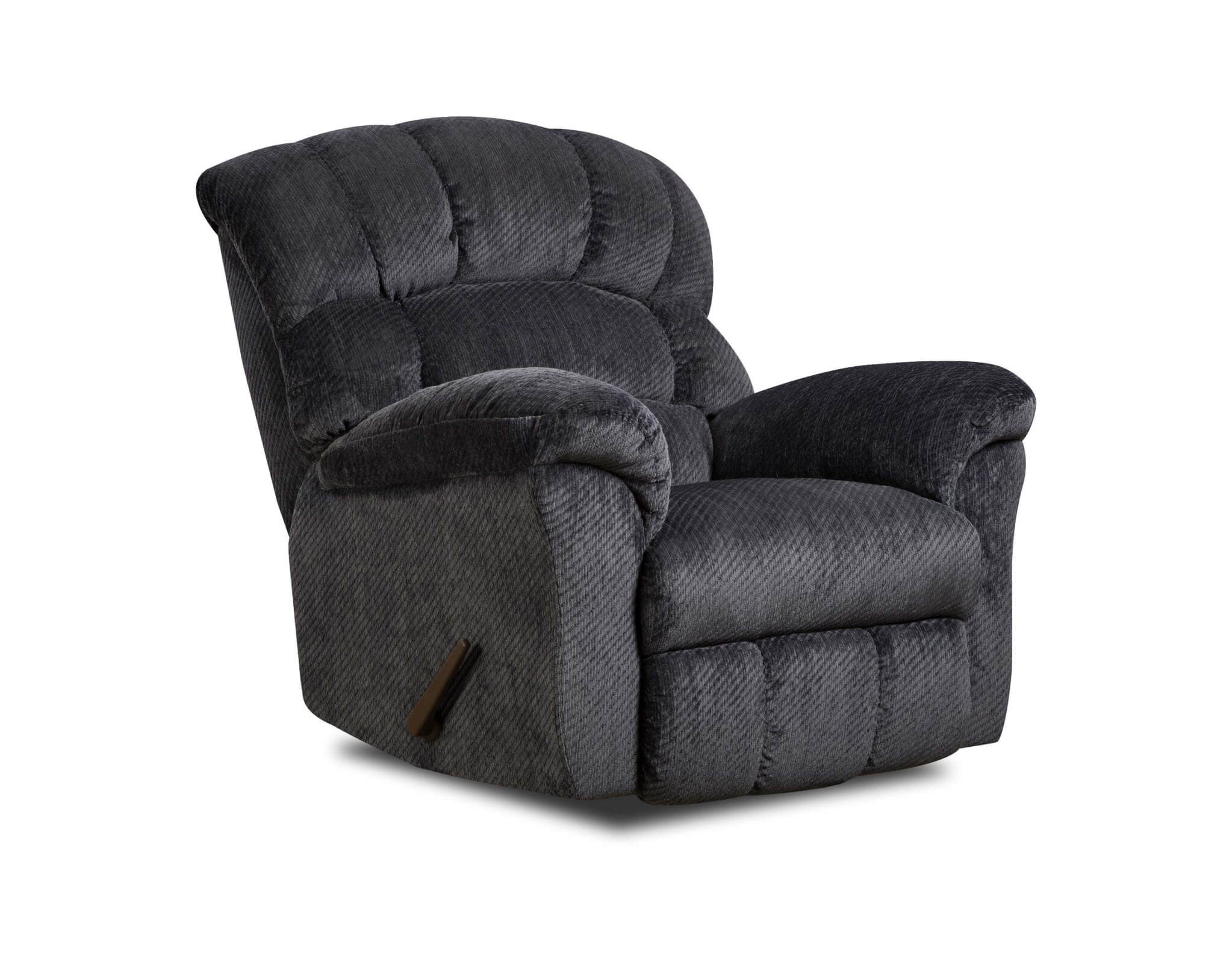 Simmons Victor Navy Recliner Recliners