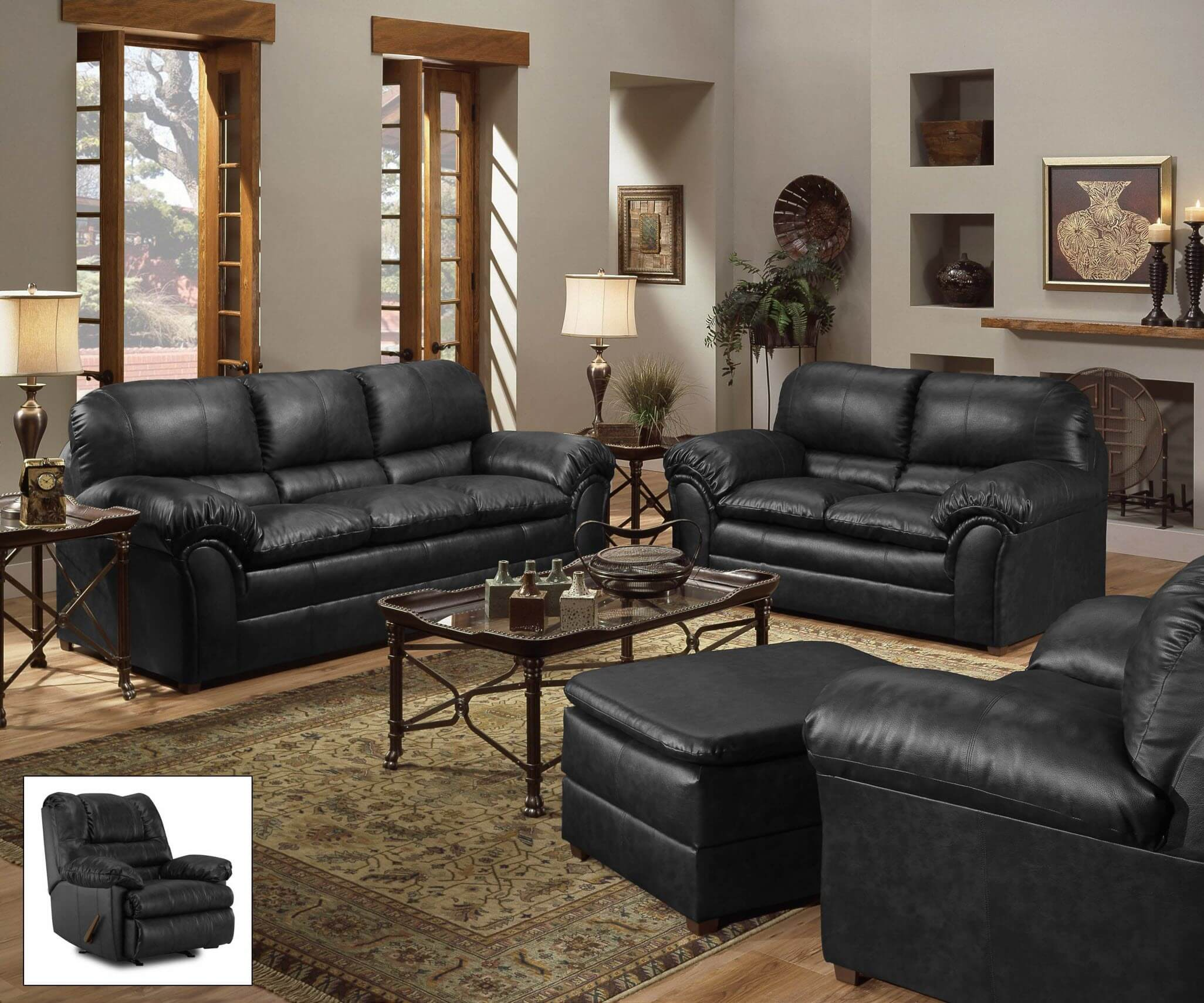 Simmons Living Room Set. Fabric Living Room Sets Geneva Onyx Sofa and Loveseat