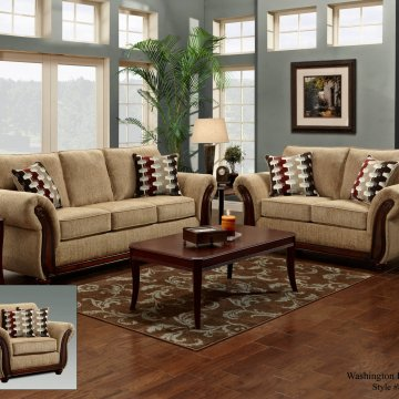Washington Radar Havana Sofa and Loveseat
