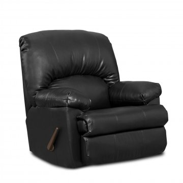 Washington Ty Black Rocker Recliner