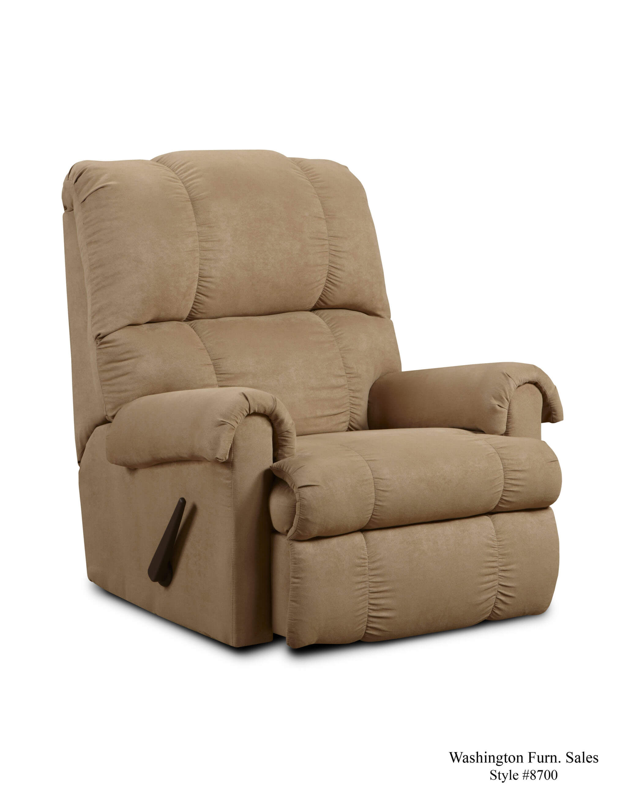 Washington Victory Lane Taupe Recliner Recliners