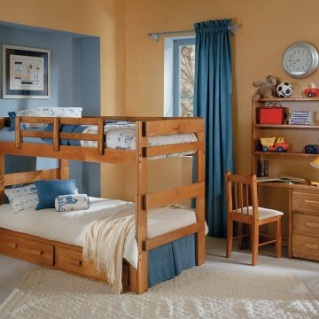 Woodcrest Solid Pine Bunk Bed