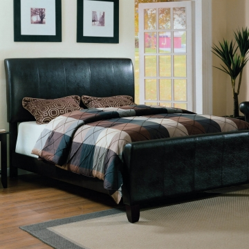 Crown Mark PU Bycast Bed