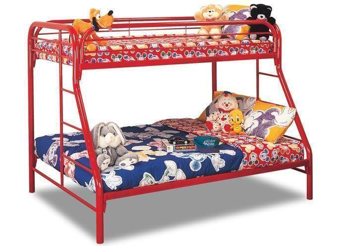 Twin Over Full Metal Bunk Bed Kids Bunk Beds