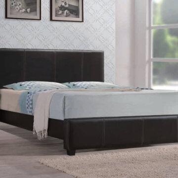Brown Platform Style Bed