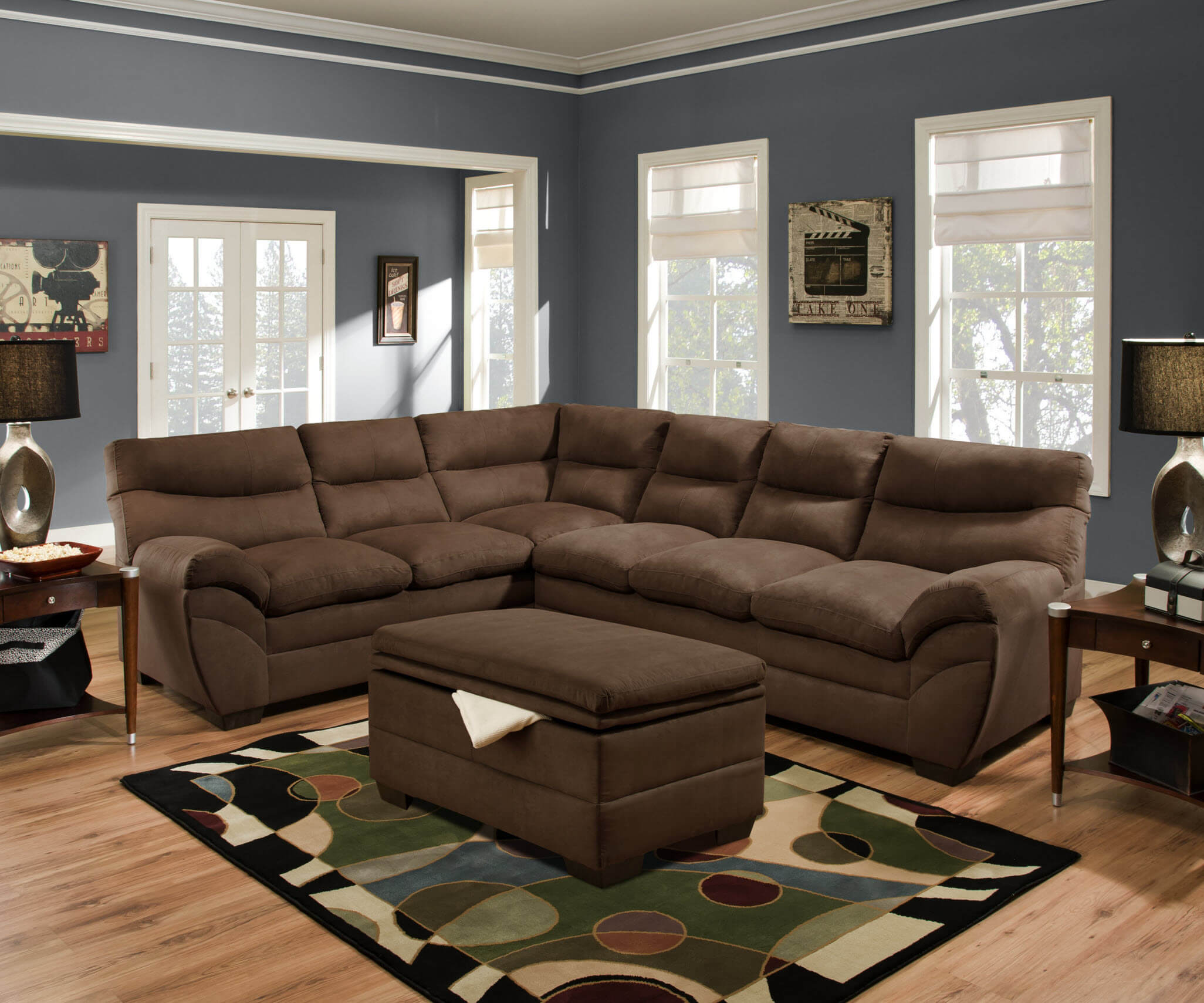 Sectional Sofa Sets : chocolate sectional - Sectionals, Sofas & Couches