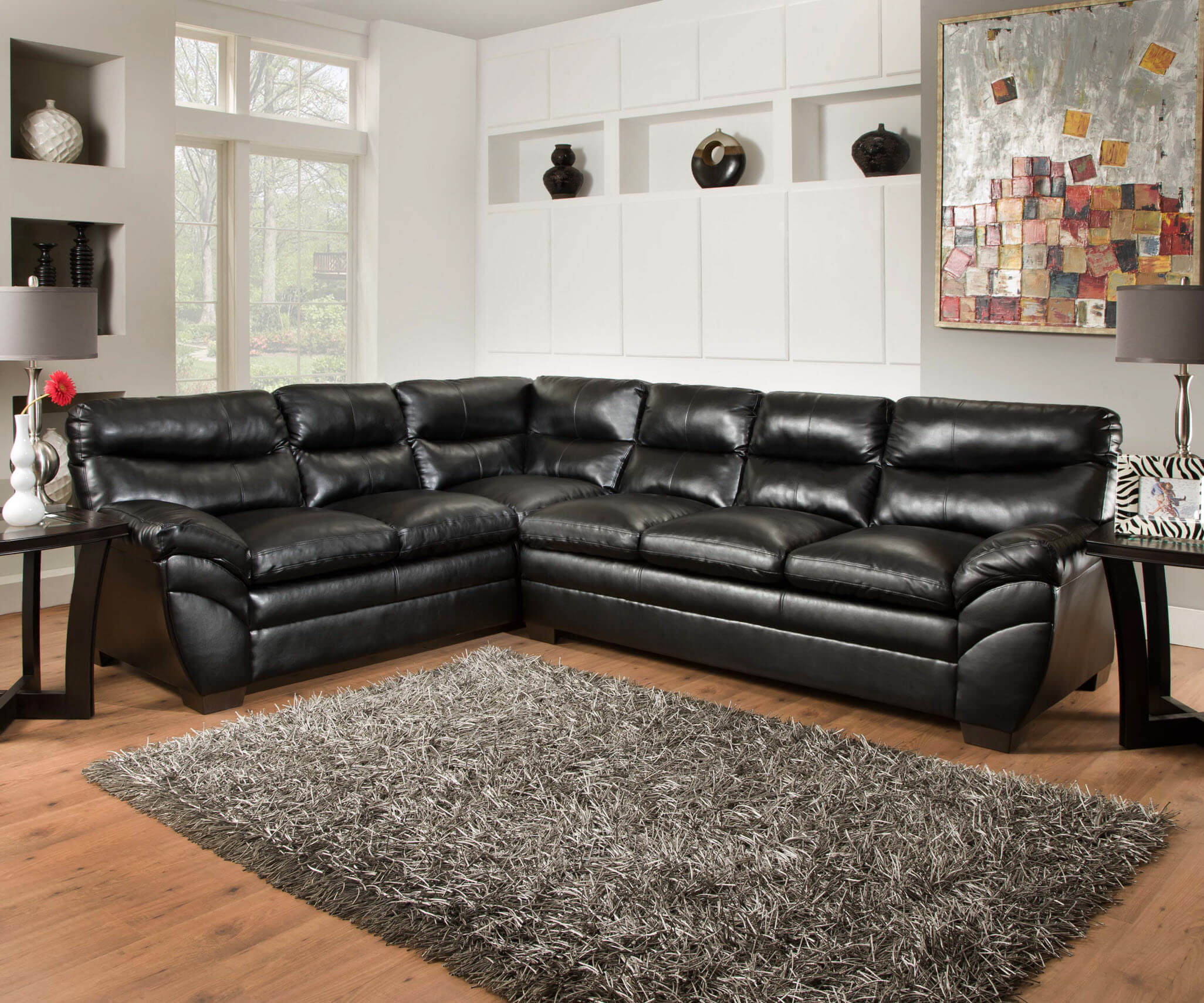 living simmons garnet sectional chico house room ii liquidation parker