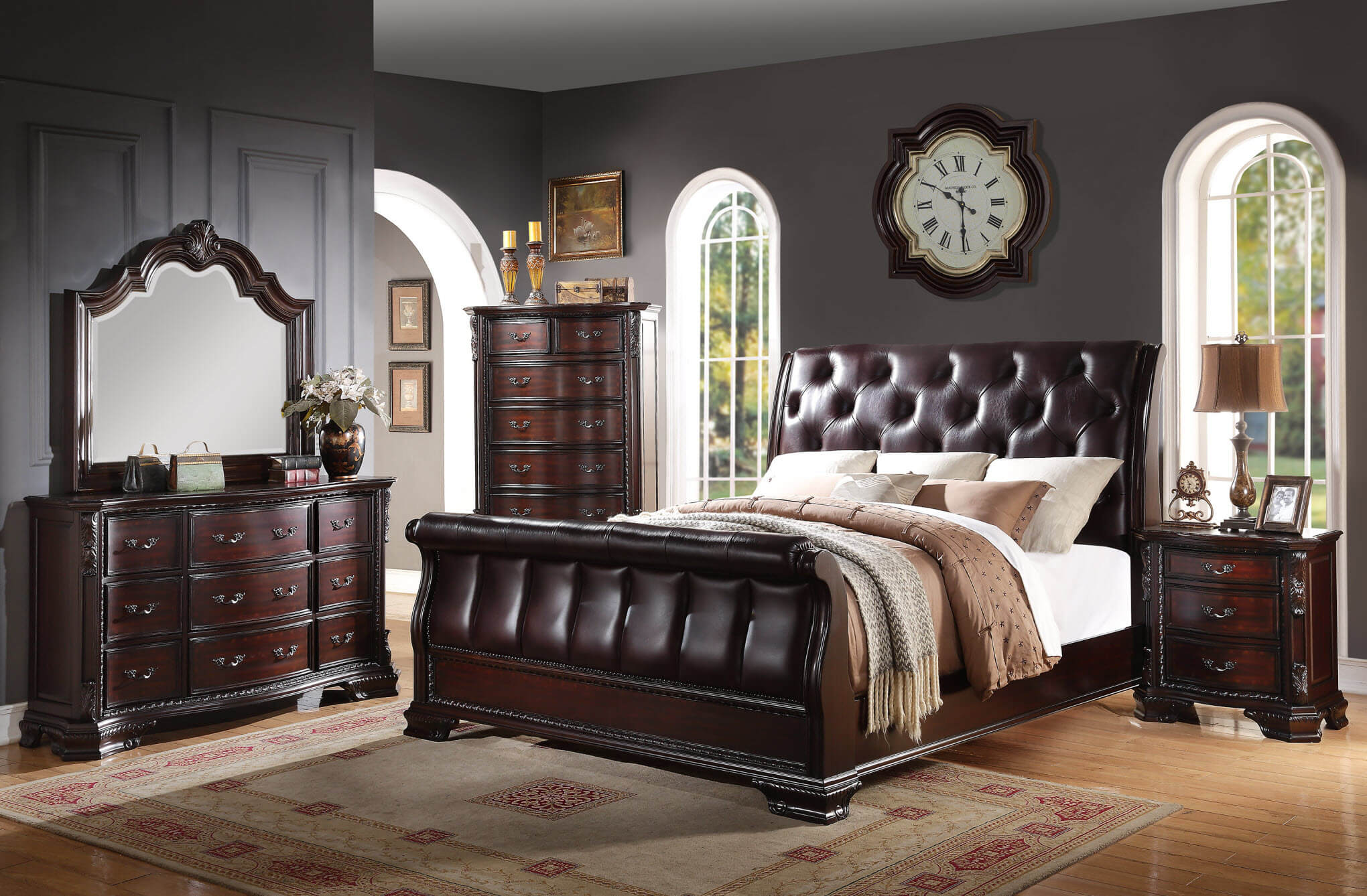 Sheffield Bedroom Set by Crown Mark | Bedroom Furniture Sets