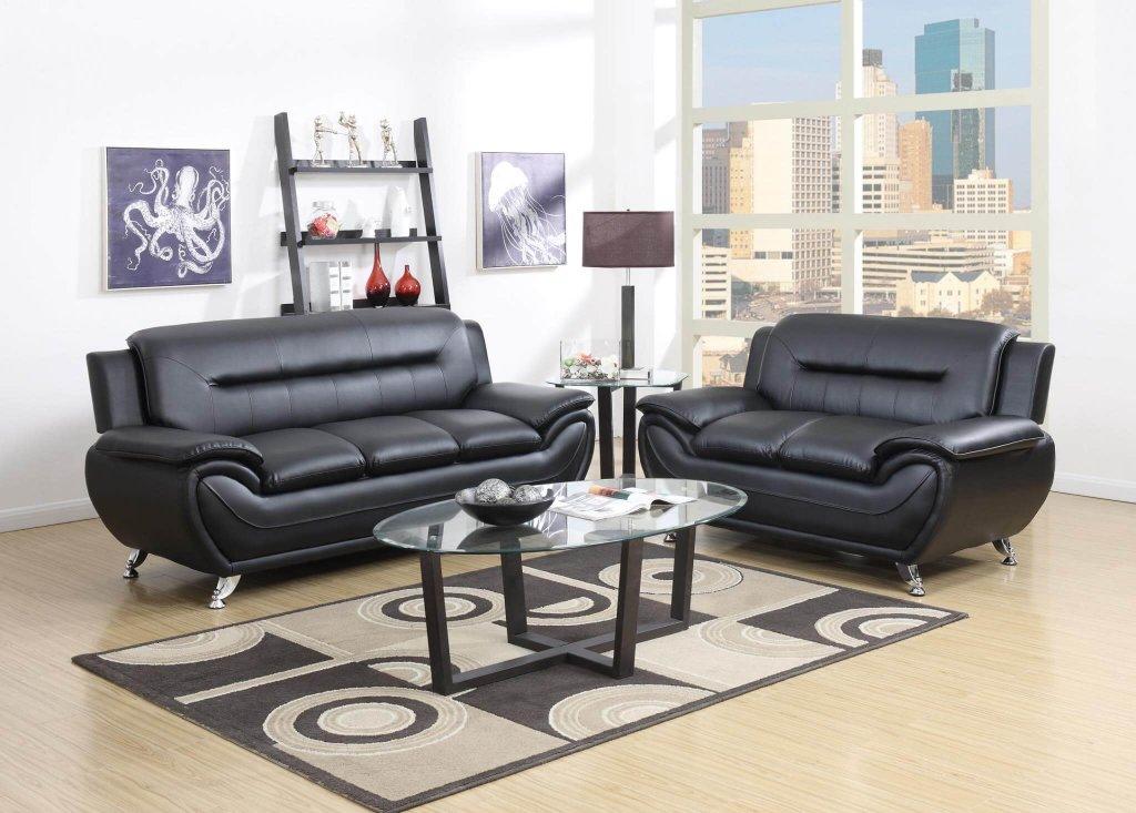 terrific black leather living room set   Black Living Room Set   Leather Living Room Sets
