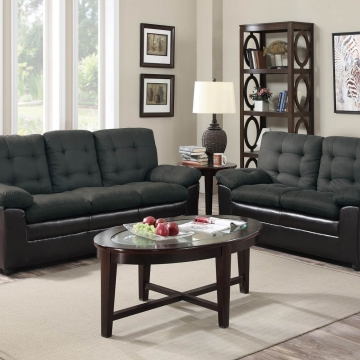 Grey Two Tone Living Room Set